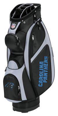 Wilson NFL Team Cart Golf Bag - Carolina Panthers