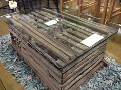 lobster trap coffee table Projects Pinterest Best Lobster trap