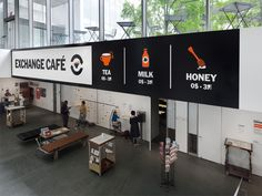 MoMA Studio: Exchange Café - The Department of Advertising and Graphic Design