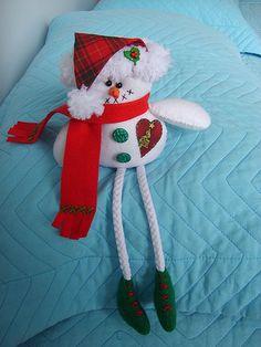 Boneco de neve!!! | Feito em feltro!!! Encomendas: pripri.cu… | Flickr