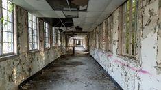 A horrifying abandoned Naval Hospital in Charleston, South Carolina.