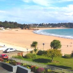 The beautiful bay at St Brelades Jersey Channel Isles Heavenly place to stay.