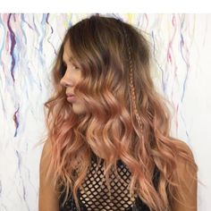 20 Blorange Hair Looks - All About Red and Orange Hair Color Trend Latest Hair Color, Cool Hair Color, Hair Colour, Blorange Hair, Peach Hair Colors, New Hair Trends, Georgia May Jagger, Corte Y Color, Ombre Hair