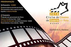 Elvas: Ciclo de Cinema de Guerra da Raia | Portal Elvasnews