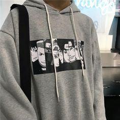 New Anime Naruto Hoodies Naruto Uzumaki Cartoon Sweatshirts Akatsuki Zipper Jacket Tumblr Outfits, Edgy Outfits, Anime Outfits, Fashion Outfits, Men's Fashion, Aesthetic Hoodie, Aesthetic Clothes, Aesthetic Fashion, Aesthetic Dark