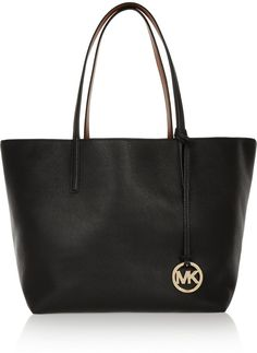 91ad3aa137b5e3 MICHAEL Michael Kors Izzy Large Reversible Textured-Leather Tote Michael  Michael Kors Stylish Handbags,