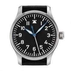 Stowa Flieger No Logo No Date | Iconic Watches.