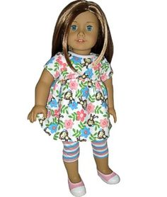 dress for american girl doll by Silly Monkey