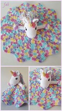 Crochet blanket patterns 457537643392587138 - Crochet Unicorn Security Blanket Crochet Pattern Source by Crochet Security Blanket, Crochet Blanket Patterns, Baby Blanket Crochet, Baby Patterns, Lovey Blanket, Baby Security Blanket, Disney Crochet Patterns, Modern Crochet Patterns, Crochet Unicorn Pattern Free