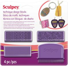 Sculpey Technique Design Blocks, ASTECH01