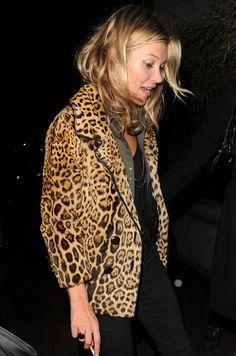 Kate Moss #leopard