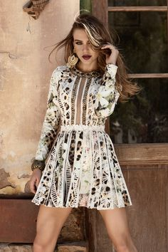 Camisa Formal, Vestido Casual, Ideias Fashion, Dresses With Sleeves, Shirt Dress, Long Sleeve, Shirts, Models, Fall Winter 2015