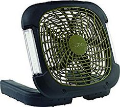 Portable fans include a range of sizes, multiple power source options, patented fan blades for efficient operation and compact designs that allow you to take the cool anywhere you want to go. Features Include: Dual Power sources: Plug-in with the A. Camping Table, Camping Gear, Camping Checklist, Camping Essentials, Backpacking, Tent Air Conditioner, Portable Fan, Portable Battery, Fan