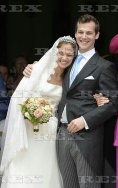 Wedding Of Princess Alix De Ligne And Earl Guillaume De Dampierre, Beloeil, Belgium - 18 Jun 2016  Princess Alix de Ligne, Earl Guillaume de Dampierre 18 Jun 2016