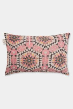 Honeycomb cushion cover: rose pink - Decorator's Notebook