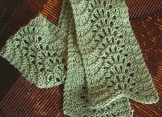 Intended to be a beginner lace pattern. A variety of yarns in different weights…