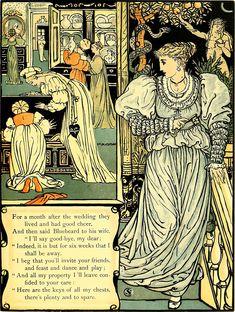 Bluebeard - Wikipedia Melencolia I, Alphabet, Walter Crane, Wonder Book, English Artists, Japanese Prints, Love Pictures, Art Deco Fashion, Illustrators