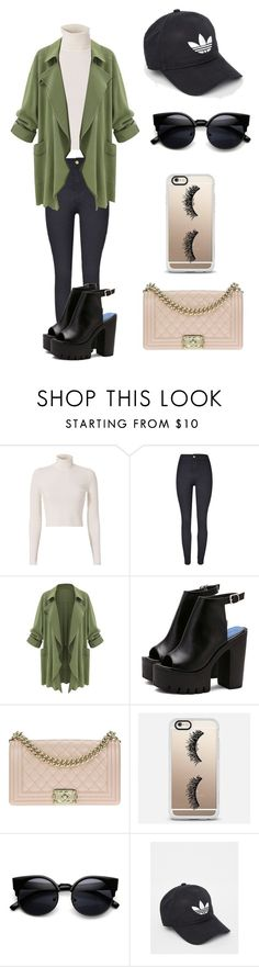 """Untitled #343"" by winniemjones ❤ liked on Polyvore featuring A.L.C., Chanel, Casetify and adidas"