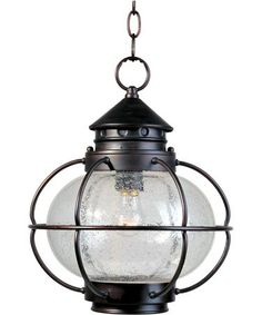 Maxim Lighting 30506 Portsmouth 1 Light Outdoor Hanging Lantern