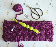 When you have a new toy (Crochet hook from Hobby Lobby) you just want to play with it  . Working on the Gwen Headband. The pattern is available for free on Ravelry: Designs by Phanessa. . #crochet #designsbyphanessa #handmadebyphanessa #crochetaddict #yarn #crocheter #crocheters #crochetersofinstagram #vkdtbo #crocheting #crochetheadband #crochethirlgang #makersgonnamake #ravelry #crochetpattern