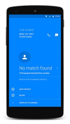 Hello app: Get to know who is calling you before attending the call Android Material Design, Android App Design, Hello App, Android Web, Google Material Design, Web Design, Mobile Ui Design, Caller Id, Mobile App Ui
