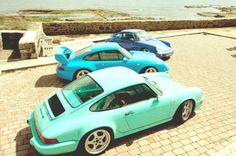 #Porsche #Retro #Colors #911 #Turbo