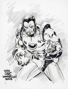 Iron Man by Jim Lee
