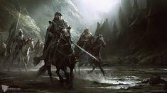 Knights Division, Darek Zabrocki on ArtStation at https://www.artstation.com/artwork/knights-division