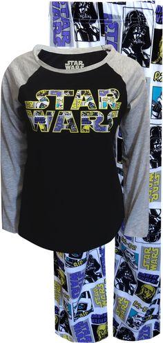 Classic Star Wars Ladies Pajama