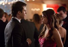 #TVD Nina Dobrev talks to TV Guide about Elena + Damon, and whether or not Damon's gonna mess it up for them!