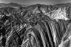 Anticllines and anticlinal landforms in the Zagros Mountains of Iran