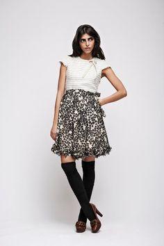 Gelfer Design A/W 2008 Handmade Art, Skater Skirt, Colours, Skirts, Pattern, Vintage, Design, Fashion, Moda