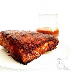 Paladares {Sabores de nati }: Costillas con salsa Barbacoa al estilo House of Cards con ensalada de repollo & muffins de maíz y miel [Reto Cocinas del Mundo - USA]