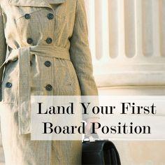 Land a Position on a Board  #fs4703 TEKS 127.14 Career Preparation II 9 D