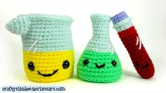 Laboratory Set Crochet Amigurumi - Imgur