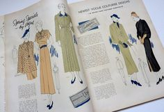 Vogue Pattern Book April / May 1935