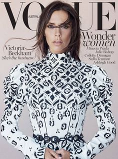 Vogue Australia August 2015 Victoria Beckham by Patrick Demarchelier