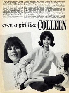 Top teenage model of the Sixties Beauty Tips For Teens, Teen Beauty, Colleen Corby, Tiger Beat, Seventeen Magazine, Teen Models, Vintage Ads, Believe, That Look