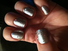 "incoco ~ ""heavy metal"" topped w Sephora OPI ~ ""beam me up hottie!"""