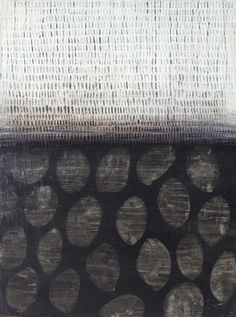 lolafiesta: Karine Leger, Rivage II (acrylique sur toile)
