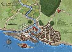 Map- City of Phlan (Dungeon 170) | The Wizards Community