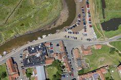 Looking down on Blakeney   by John D F