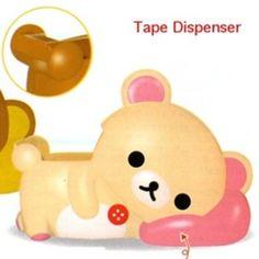 "San-X Rilakkuma Desktop 4"" Tape Dispenser: Little Bear"