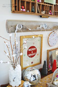 Pom Pom Snowball Trees For An Awesome Pop to Your Christmas Decorations | #Christmas #Holidays #DIY #Decor