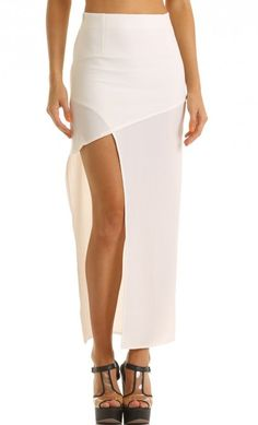 #lucyinthesky.com         #Skirt                    #Skirts #POWER #SKIRT #WHITE                        Skirts > ALL THE POWER SKIRT IN WHITE                                         http://www.seapai.com/product.aspx?PID=760406