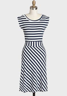 Striped Dress By Synergy at #Ruche @Ruche #organic