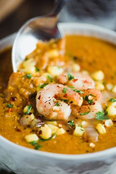 Smoked Paprika Shrimp and Corn Chowder easy, delicious, and healthy ...