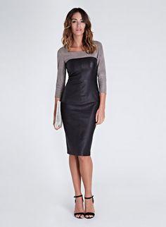 Liv Leather Dress | Dresses | Baukjen