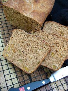 Whole Wheat Cinnamon Raisin Bread, Revisited