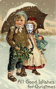9775e27a7b6 Anonymous Christmas gift eCard 12  Love makes the world go round. Not the  soiled